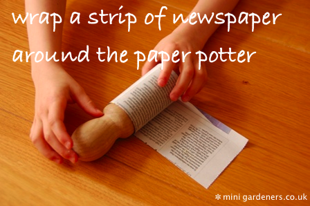 newspaper pot instructions 2 annotated
