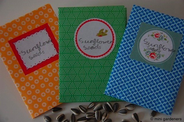 homemade seed packets