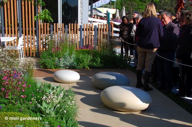 chelsea flower show 2013 polished concrete stones