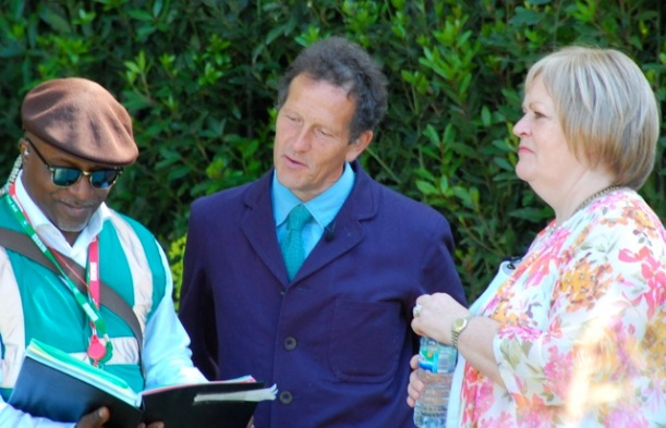 monty don at the chelsea flower show